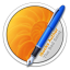 64x64px size png icon of iBooks Author