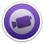 64x64px size png icon of iMovie
