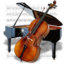 64x64px size png icon of Music Piano Chello