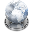 64x64px size png icon of Network File Server Disconnected alt