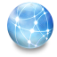 64x64px size png icon of Network iDisk