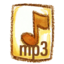 64x64px size png icon of Natsu mp3