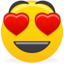 64x64px size png icon of Emoticon inlove