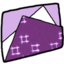 64x64px size png icon of Folder purple