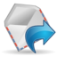 64x64px size png icon of Actions mail forward