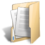 64x64px size png icon of Folder document open