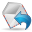 64x64px size png icon of Mail reply