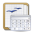 64x64px size png icon of Apps openoffice calc