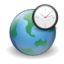64x64px size png icon of Apps world clock