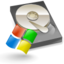 64x64px size png icon of Filesystems hd windows