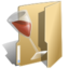 64x64px size png icon of Folder wine