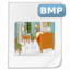 64x64px size png icon of Mimetypes bmp