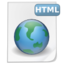 64x64px size png icon of Mimetypes html