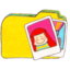 64x64px size png icon of Osd folder y photos