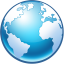 64x64px size png icon of Globe
