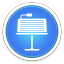 64x64px size png icon of Keynote