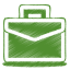 64x64px size png icon of green case