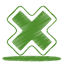 64x64px size png icon of green cross