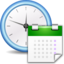 64x64px size png icon of Apps preferences system time