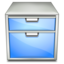 64x64px size png icon of Apps system file manager