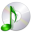 64x64px size png icon of Devices media optical audio