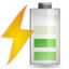 64x64px size png icon of Status battery charging 060