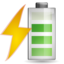 64x64px size png icon of Status battery charging 080