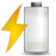 64x64px size png icon of Status battery charging low