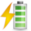 64x64px size png icon of Status battery charging