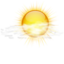 64x64px size png icon of Status weather few clouds