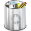 64x64px size png icon of Status user trash full