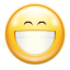 64x64px size png icon of emotes face smile big