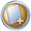 64x64px size png icon of Toolbar folder add
