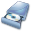 64x64px size png icon of Cd dvd wr