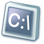64x64px size png icon of Dos application