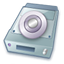 64x64px size png icon of External drive