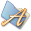 64x64px size png icon of Folder fonts