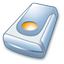 64x64px size png icon of Hard drive