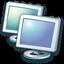 64x64px size png icon of Network neighborhood