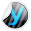 64x64px size png icon of Yammer