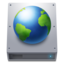 64x64px size png icon of Disk HDD Web