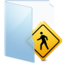 64x64px size png icon of Folder Blue Public
