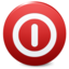 64x64px size png icon of Sign Shutdown