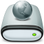 64x64px size png icon of Drive Network offline