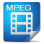 64x64px size png icon of Filetype mpeg