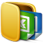 64x64px size png icon of Folder Office