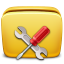 64x64px size png icon of Folder Settings Tools