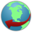 64x64px size png icon of globe service