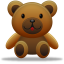 64x64px size png icon of teddy bear