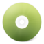 64x64px size png icon of CD avant vert